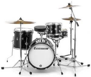 LUDWIG BREAKBEATS BLACK GOLD SPARKLE